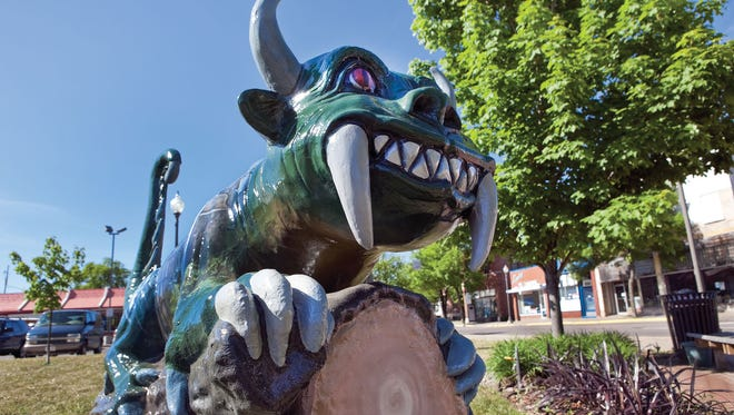 Rhinelander's mythical hodag has become a symbol for the city in northern Wisconsin.
