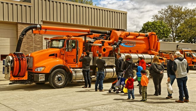 Check out the big rigs at the annual Birmingham DPS Open House