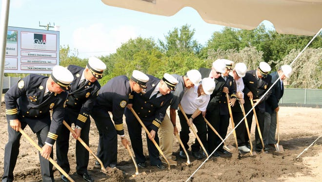 Bonita Springs Fire Control and Rescue District broke ground last week on a new station that will serve east Bonita Springs.