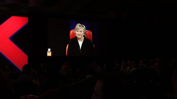Hillary Clinton, speaking at Code conference on Wednesday.