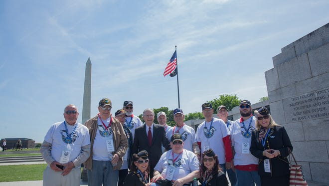In May, U.S. Senate Majority Leader Mitch McConnell welcomed over 80 World War II, Korea, and Vietnam veterans from across Kentucky to Washington, D.C. during their visit with the Honor Flight program.