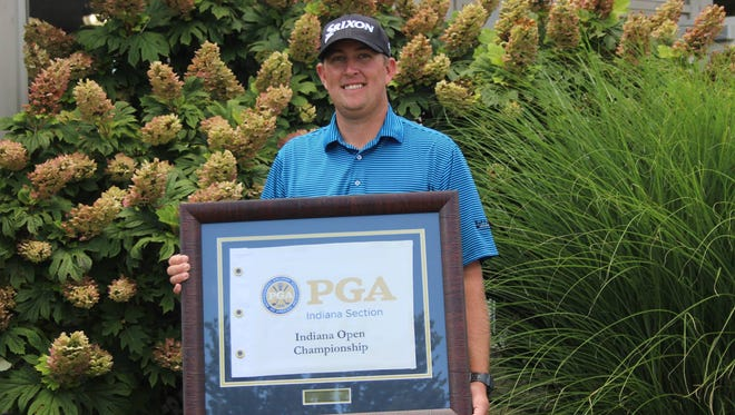Brian Maurer, a graduate of Richmond High School and Ball State University, won the Indiana Open last week.