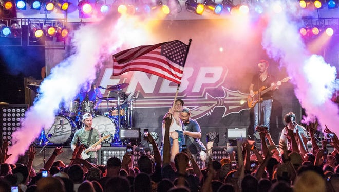 FSU's Block Party the night before home football games features live entertainment.