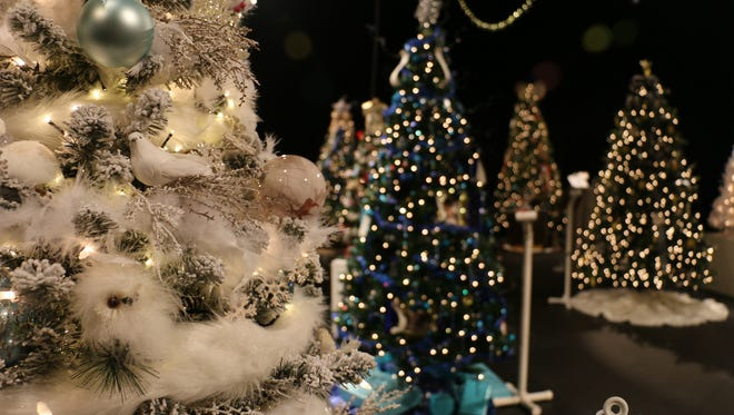 Riverside Theatre's showcase of trees opens to the public at 10 a.m.Nov.18 andNov.19. Tickets are$10 for adults and $5 for children.