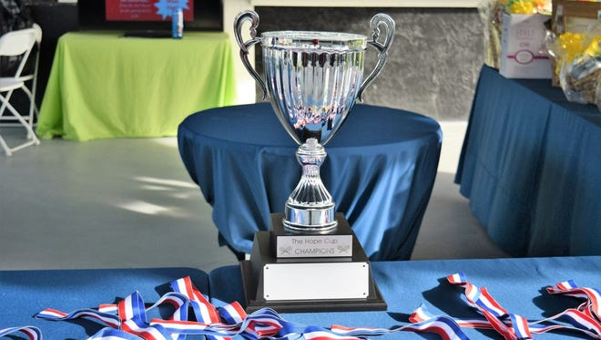 The Hope Cup perpetual trophy gets awarded annually to the club with the most members participating in the tournament.