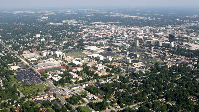 A rape was reported Monday at a fraternity house near the Missouri State University campus.