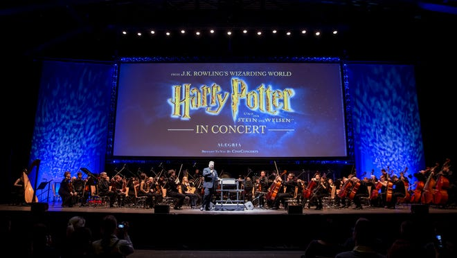 A promotional photo for the Harry Potter Film Concert Series