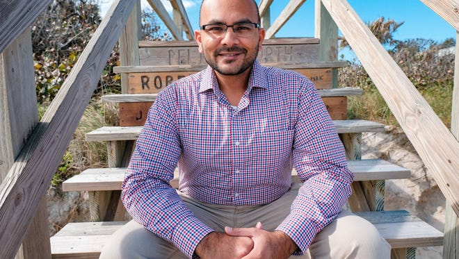 Democrat Sanjay Patel, a resident of Satellite Beach, is challenging incumbent Republican U.S. Rep. Bill Posey of Rockledge in the 2018 election. (Photo courtesy of David Garrett.)