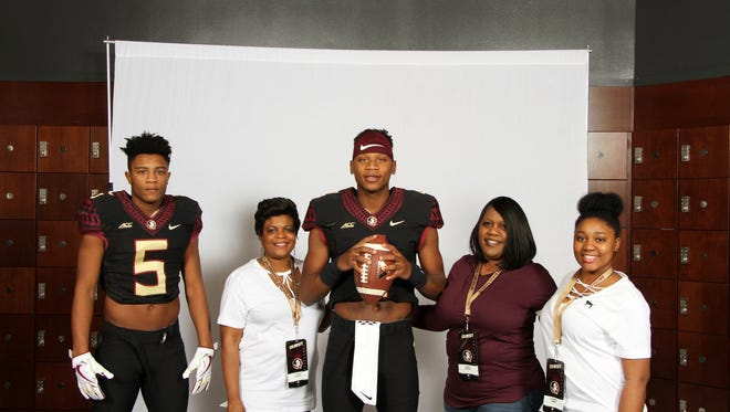 Four-star quarterback James Foster on his official visit to FSU.