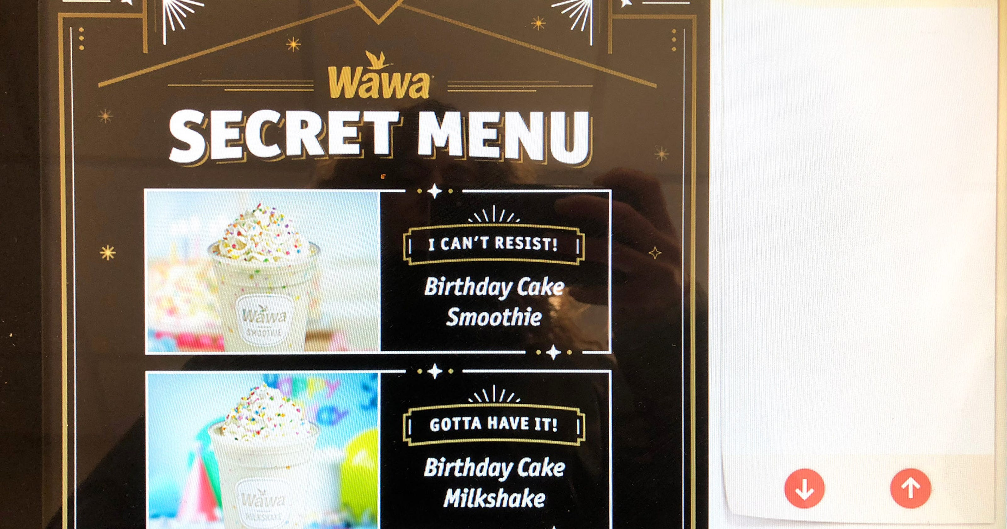 How To Unlock Wawas Secret Menu And Get Birthday Cake Shakes