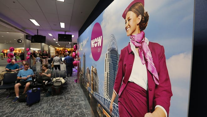 The Enquirer team sent photographer Liz Dufour and senior business reporter Alex Coolidge on WOW Air's first jet serving CVG Airport, The flight touched down in Reykjavik, Iceland on Wednesday, May 9, 2018. Dufour and Coolidge will spend a total of 82 hours in the Nordic island country.