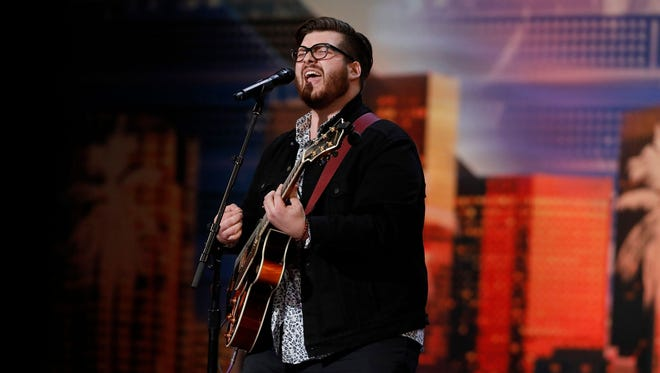 """Greer's Noah Guthrie competed on """"America's Got Talent"""" on June 12."""