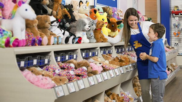 Build-a-Bear Workshop's one-day sale was so...