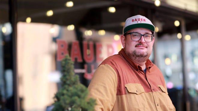 Chef Jackson Rouse of Bauer Farm Kitchen and Bauer Markt