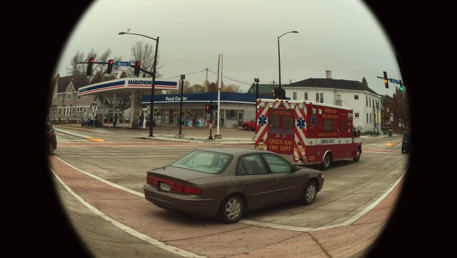 Monroe Avenue in downtown Green Bay reopened to traffic on Friday morning.
