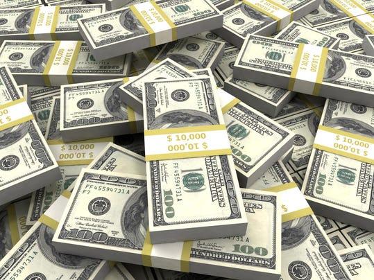 webart 100 Dollar Bills