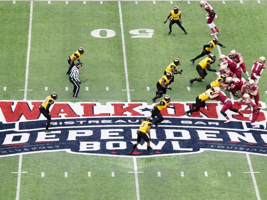 Southern Miss vs. Florida State at the 2017 Independence