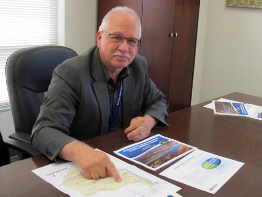 Doug Shoop, manager of the Hanford Nuclear Reservation's