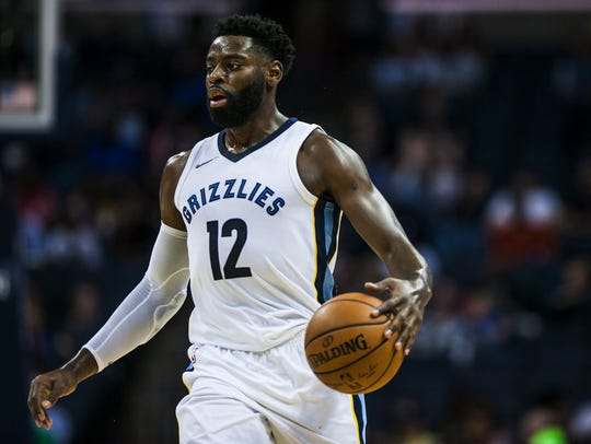 October 11, 2017 - Memphis Grizzlies guard Tyreke Evans