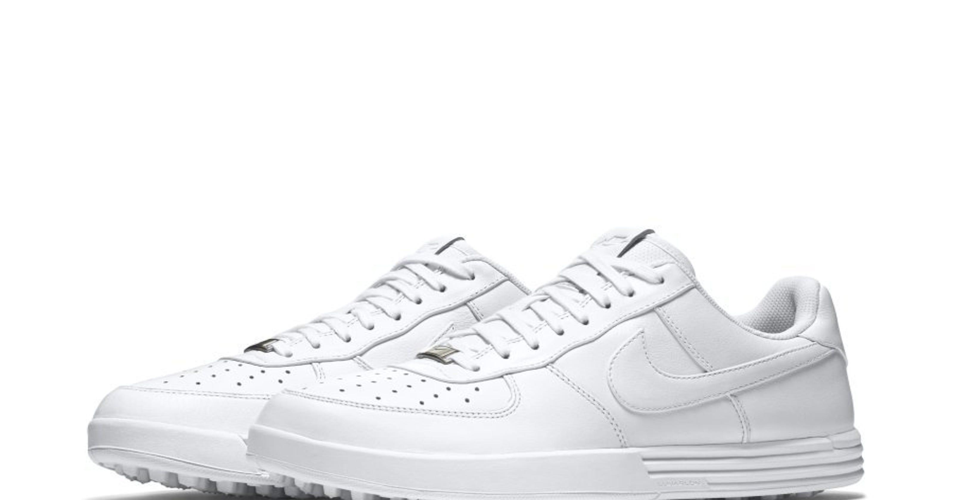 54468b18a4d05 GOLF GEAR  Nike Air Force 1 G golf shoes