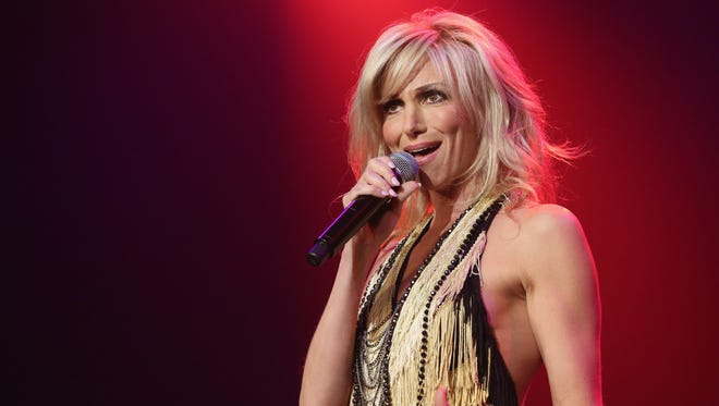 Singer Debbie Gibson performs during the Mondays Dark 2nd anniversary at The Joint inside the Hard Rock Hotel & Casino on December 14, 2015 in Las Vegas, Nevada.