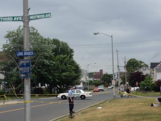 Gunfire investigation in Long Branch.