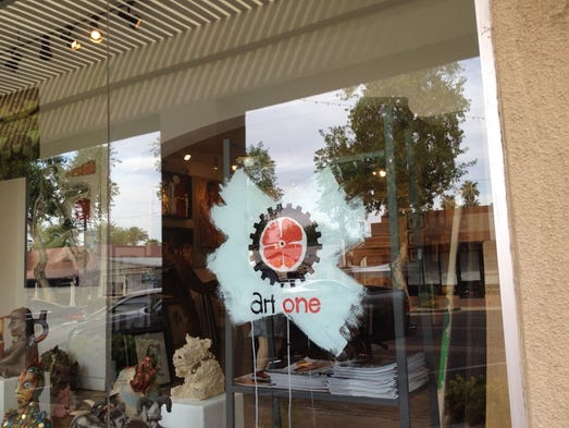 Art One Gallery, 4130 N Marshall Way, represents works of college and high school students.