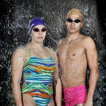 Franklin swimmer Angelica Castrejon and Cathedral's Diego Ramirez are two of the top swimmers to watch as El Paso schools start their season.