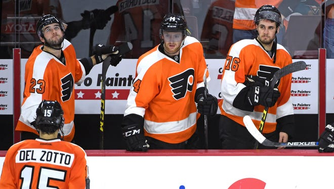 The Flyers were scoreless Thursday and have the NHL's least potent offense this season.