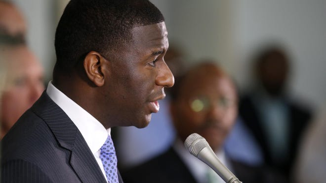 Mayor Andrew Gillum criticized the last- minute addition of three new organizations to a comitttee that's part of a new economic development structure.