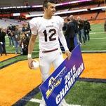 Aquinas football star Jake Zembiec