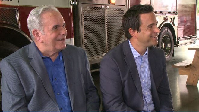 """Kent and Joe Dana are featured in """"Family Footsteps,"""" a feature segment that will air on Channel 12 (KPNX) from Aug. 1-5."""