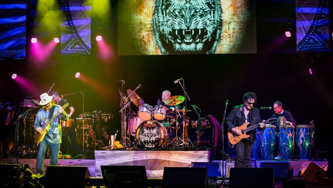 Original Santana rocked the House of Blues in Las Vegas on March 21.