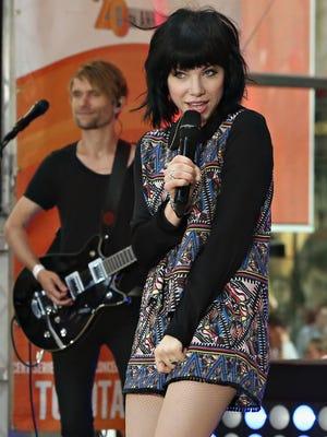 Singer Carly Rae Jepsen.