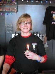 Leah Dienes of Apocalypse Brew Works says her favorite brew is Fallen Dust.