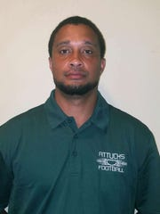 Crispus Attucks football coach Troy Moore.