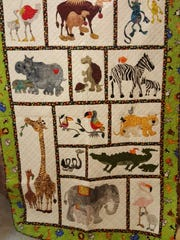 This quilt by Jeannie Neldner took second place at the Wisconsin State Fair.