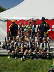 MC United Venom earned first place at the Scheels Flatgrass Regional Tournament in May in Neenah.