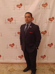 Anania at a fundraiser to benefit the Gregory M Hirsch