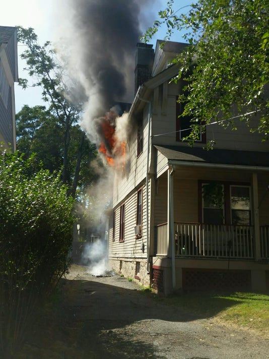 MONTCLAIR HOUSE FIRE