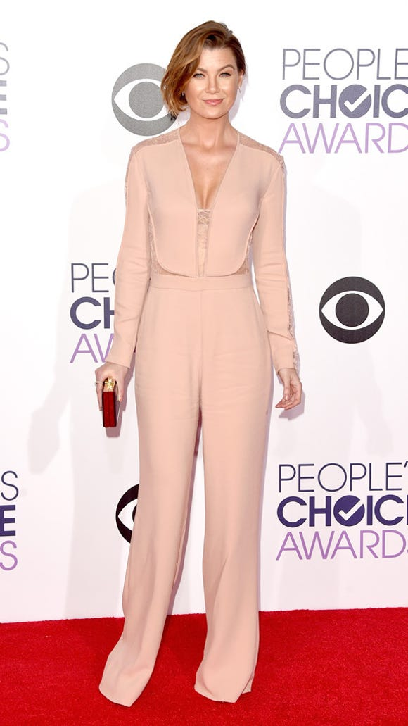 "Ellen Pompeo of ""Grey's Anatomy"" snags TrenDE's best dressed."