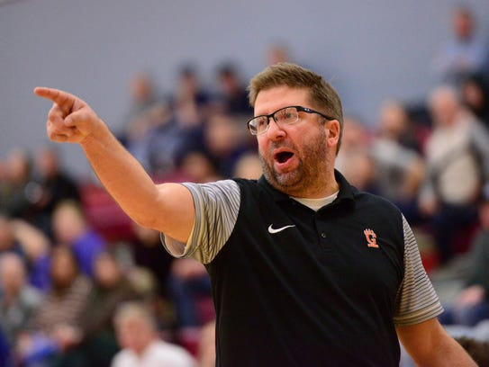 Coach Brent Liskai likes what he sees when he tries to look into Gibsonburg's future.
