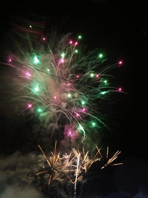 Fireworks highlight each Saturday home game and July 4 for the Jackson Generals this season.