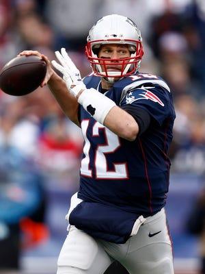 Patriots QB Tom Brady is poised to make his sixth Super Bowl start.