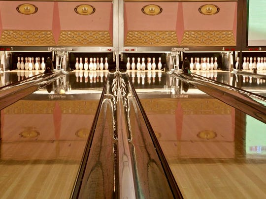 The popular music venue & bowling alley Rock 'n' Bowl