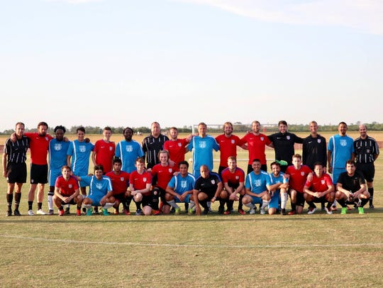 The US Paralympic Soccer national team held their most