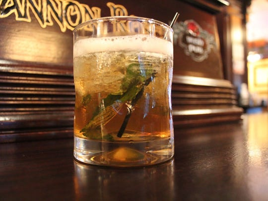 Woodford Mint Julep from The Shannon Rose.