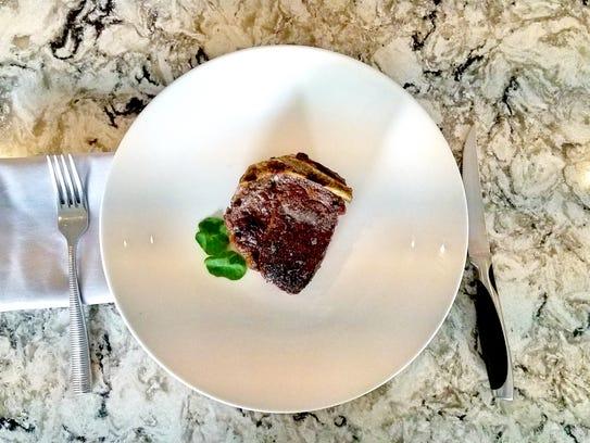 12-ounce Bone-in Filet Mignon from Char Steak & Lounge.