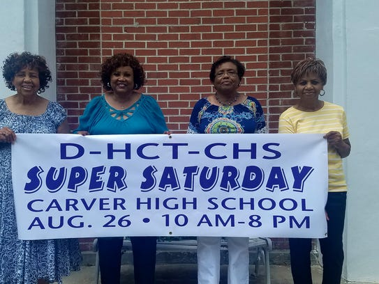 The Dunbar-Carver High School Alumni Association hosts