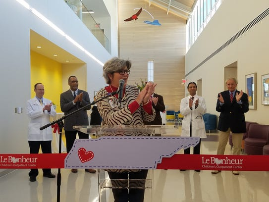 Director of West Tennessee Pediatrics Diane Rushing